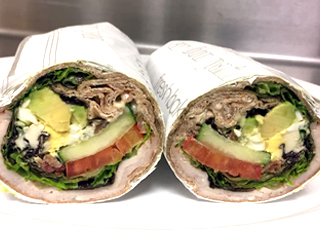 Au Bo Pain - Turkey Cobb Wrap