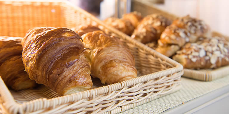 Photograph of croissants