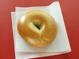 Au Bo Pain - Plain Bagel