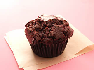 Au Bo Pain - Double Chocolate Chunk Muffin