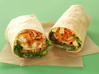 Au Bo Pain - Thai Peanut Chicken Wrap